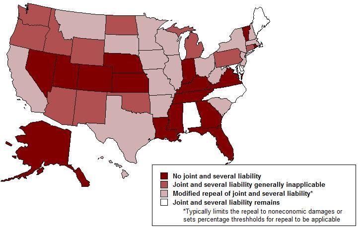 No Fault Insurance States >> Tort Reform